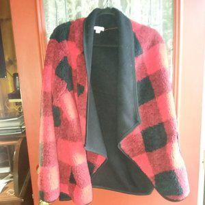Sonoma Jackets & Coats - Sonoma buffalo plaid fleece jacket